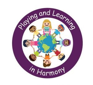 Playing and Learning in Harmony