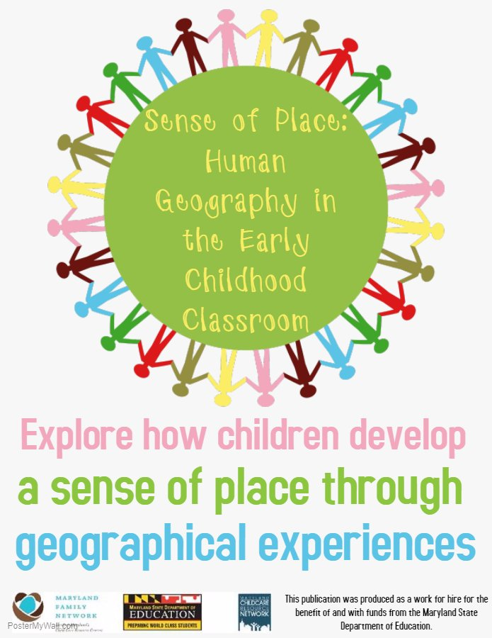 Sense Of Place: Human Geography In The Early Childhood