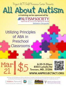 Copy Of All About Autism – Aba – Made With Postermywall