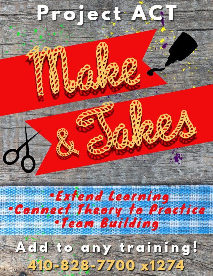Make & Take Flyer