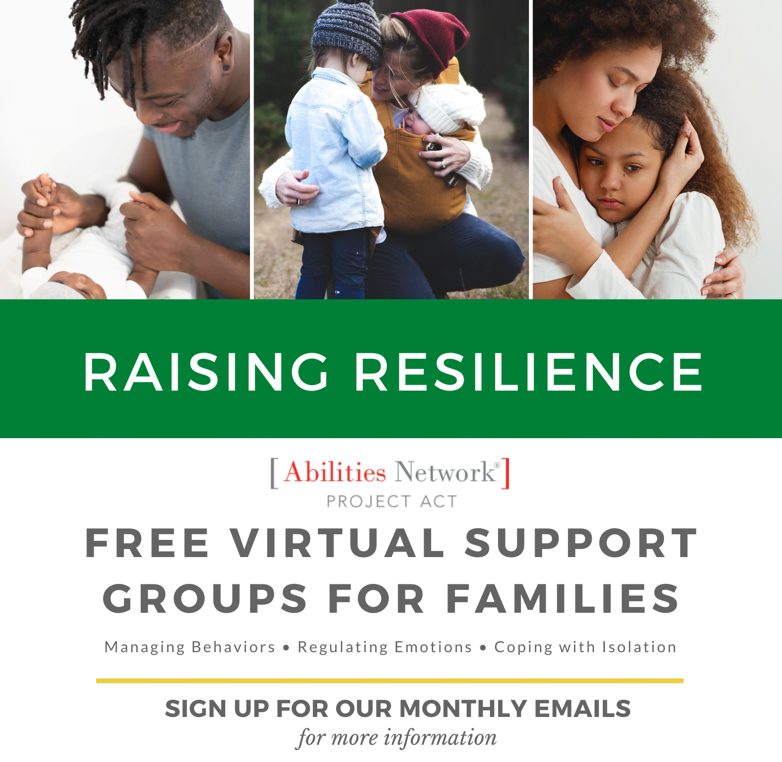 Family Support Group Email Blast